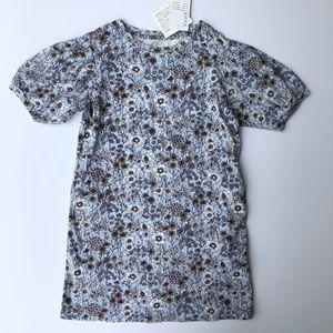 UNIQLO KIDS | Sanderson Floral Half Sleeve Dress